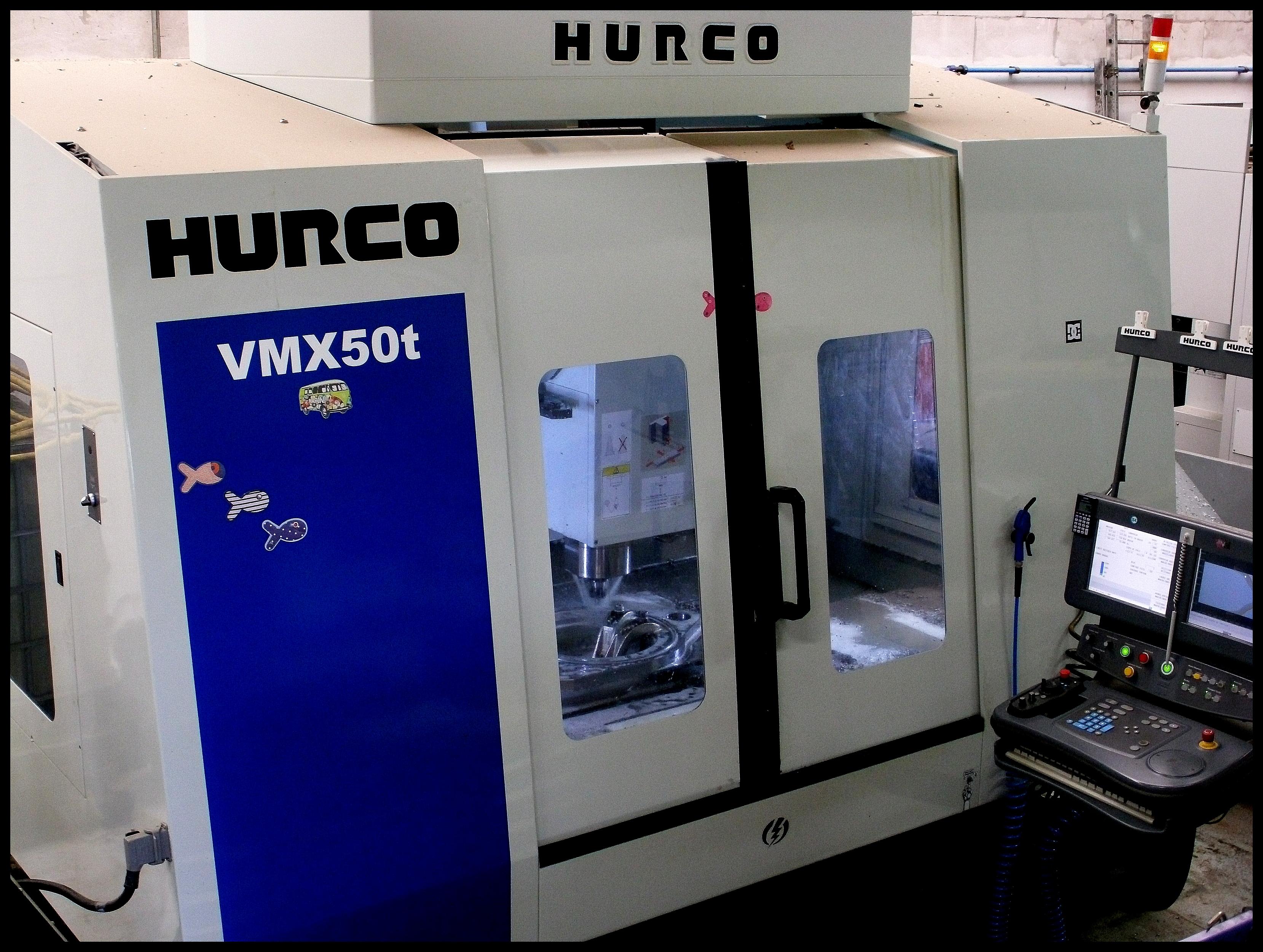 Centre d'usinage Hurco